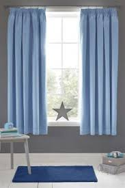 High Quality Plain Dye Blackout Pencil Pleat Curtains