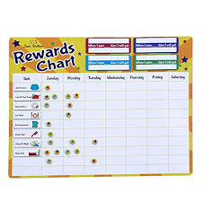 5 Year Old Behavior Chart Goal Star Chart For Kids Amazon Com