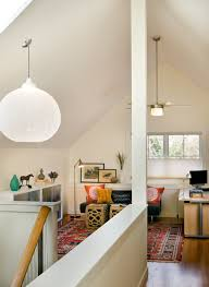 salvage a space with slanted ceilings