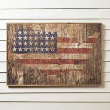 rustic american flag wall art wayfair inside wooden american flag wall art gallery 10