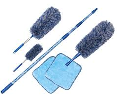 6-Piece EasyReach Microfiber Duster Set by Campanelli - V34935