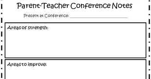 parent conference template the fabulous first grade parent teacher conferences made easy
