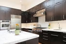 sleek quartz countertop white cabinet for elegant interior design complete countertops with dark cabinets outstanding 9