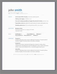 Word Document Resume Template Free Download Marvelous Curriculum