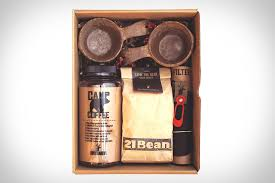 Get the pakt coffee kit for 26% off the retail price ($189) plus a 12 oz whole bean bag of two coffee kits for 26% off the retail price ($378). Bush Smarts Camp Coffee Kit Uncrate
