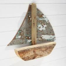 driftwood sailboat wall hanging model wooden boat buy the sea on wood boat wall art with white sail driftwood boat wall hanging model wooden boat buy