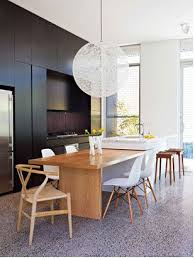 dining table attached to kitchen island. image result for kitchen island bench with inset integrated timber table dining attached to s