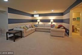 basement design ideas. 4 tags contemporary basement with shaw carpet - beige, carpet, high ceiling design ideas