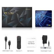 Android TV Box L1 Plus【4G+64G】 Android 9.0 TV Box mit RK3318 Quad-Core  64bit Cortex-A53/ unterstützt WiFi 2.4G/5.0G /Bluetooth 4.1/ 4K/HD/USB 3.0/  HDMI 2.0a/H.265 Smart tv Box Android Box Streaming-Clients Elektronik & Foto