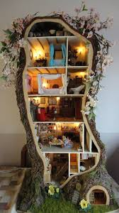 tree house decorating ideas.  Ideas Unique Doll Tree House Design With Minimalist Decoration Ideas To Decorating A