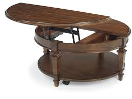 Exceptional Flexsteel Round Lift Top Coffee Table 6692 0341 Pictures