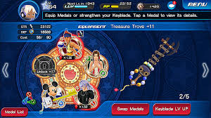 Kingdom Hearts Unchained X Keyblade And Medal Guide