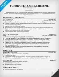 #Fundraiser Resume Sample (resumecompanion.com)