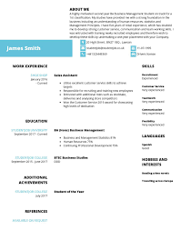Things To Include In Your Resumes How To Write A Cv What To Include In A Cv Studentjob Uk