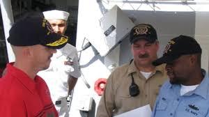 Bucs Board USS Bainbridge