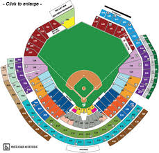 Washington Nationals Seating Chart Detailed Nationals Stadium Seating Chart For Concerts Seating Chart