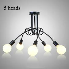 industrial home lighting. Vintage Ceiling Lights Modern Light Fixtures LED Lamps Home Lighting Metal Lampshade Industrial Edison E27 Holder I