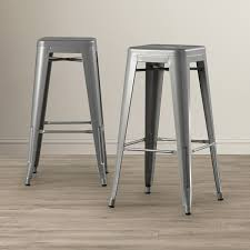 belleze set of  modern  industrial bar stools onebigoutletcom
