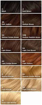 Clairol Hair Colors Chart Hair Colors For Brunettes Summer