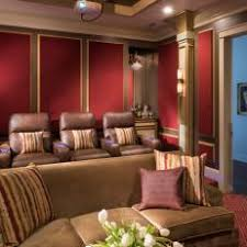 home theater acoustic wall panels. traditional home theater with red acoustical wall panels acoustic