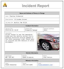 Incident Reporting Accident Report App Alpha Transform