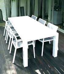 white metal outdoor furniture. Simple Outdoor White Patio Table Aluminum Mesmerizing  Charming   Throughout White Metal Outdoor Furniture T
