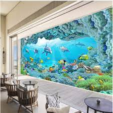 3D Wallpaper TV Wall Decor Sticker ...