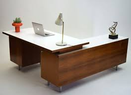 mid century modern office desk. mid century modern office george nelson herman miller walnut executive desk vintage o