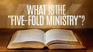 what is the five fold ministry