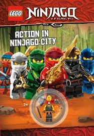 LEGO Ninjago: Action in Ninjago City by LEGO, 9781760508807 | Buy online at  Moby the Great