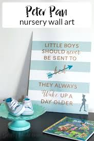 peter pan nursery create a sweet and sentimental piece of art for a little boys room peter pan