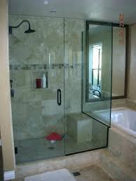 barn door shower doors sliding glass bottom track also style