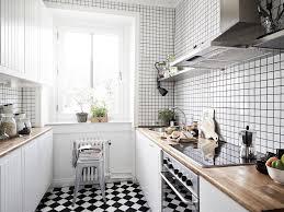 white kitchen dark tile floors. Kitchen:Stunning Black And White Kitchen Tile Decor Ideas With Marble Countertop Dark Floors