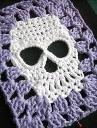 Skull Crochet Pattern Fascinating FREE Skull Crochet Patterns Knitting And Crochet Pinterest