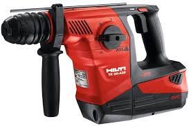 hilti tools. hilti\u0027s te 30-a36 is the world\u0027s first cordless combihammer drill. capacity extened with hilti says new 36 volt, 6.0 amp hour battery provides more tools t