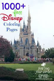 1000 Free Printable Disney Coloring Pages