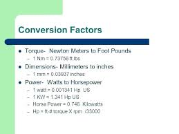 Inch Pounds To Newton Meters Chart Feet To Pounds Conversion Hieght Conversion Chart Meters To