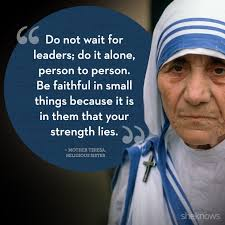 Mother Teresa Quotes Life Magnificent INSPIRATIONAL QUOTES BY MOTHER TERESA The Insider Tales