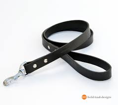 the hd lead custom made heavy duty premium leather dog leash