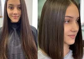 Если каре с удлинением сделано на длинных волосах, то у девушки есть возможность создания разнообразных укладок и причесок. Modnye Zhenskie Strizhki Na Srednie Volosy Italyanka Kaskad I Udlinennoe Kare 45 Foto Novosti Mody