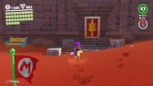 in the far northwest corner of sand kingdom on the side of the structure that the scarecrow sits atop is a secret door in here you can ride a series of