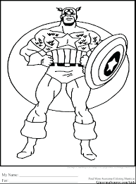 Captain America Winter Soldier Coloring Pages The Acnee