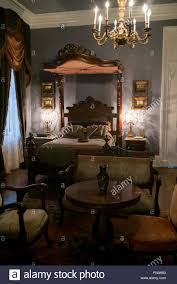 Old Fashioned Bedroom Old Fashioned Bedroom In A Stately Home Stock Photo Royalty Free