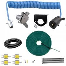 towed vehicle wiring kits for turn signal, brakes and running lights towed vehicle wiring kit at Towed Vehicle Wiring