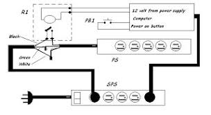 the rage 2007 look at this diagram as you can see i am switching the black wire of the power strip ps a relay this relay has a 12 volt dc coil