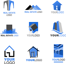 real estate free real estate logo template vector free vector 4vector