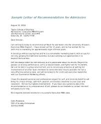 Format Letter Of Recommendation Academic Letter Of Recommendation Template