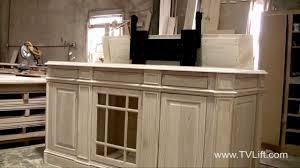 tv cabinet lift mechanism. Simple Cabinet Custom Cabinet With TV Lift Mechanism Tv P