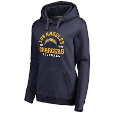 Full Women's By Chargers Plus Angeles Back Nfl Navy Pro Hoodie Size Branded Line Fanatics Los Pullover