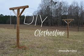 How To Make A Clothesline Impressive The Clothesline That Jeremy Built Homesteading On Grace